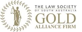 The Law Society of South Australia's Gold Alliance Firm logo